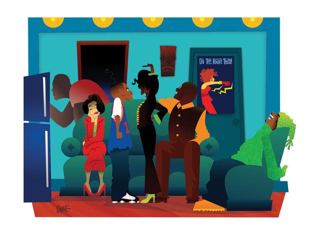 Artbeat Black Pop Artist Xpayne Kadia B
