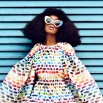 Solange Gets Colorfully Candid in Harper's Bazaar