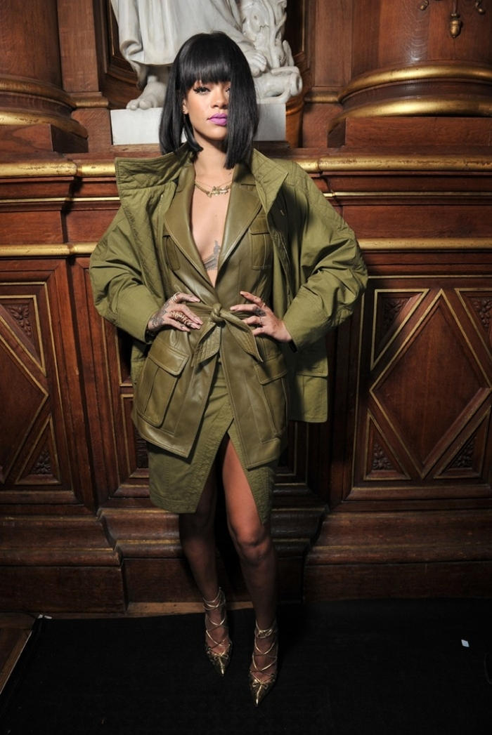 Style Stalk Rihanna Shuts Down Paris Fashion Week Kadia B
