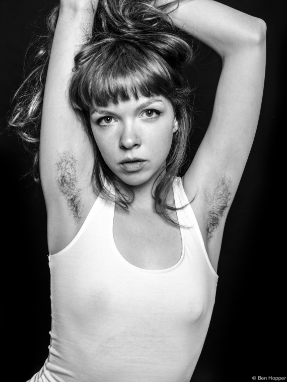 Women Flaunt Armpit Hair In Photographer S Beauty Project Kadia B