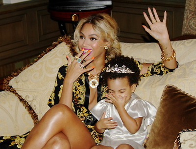 Beyonce Responds to Blue Ivy Hair Drama with a Perm - Kadia B.