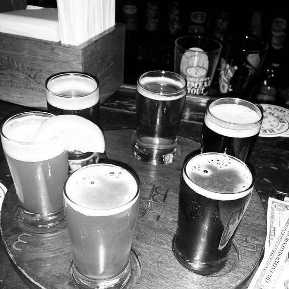 beer at the bar kadia blagrove